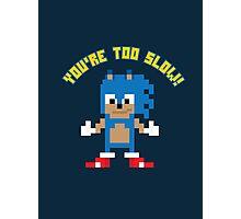 8Bit Sonic Photographic Print