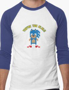 8Bit Sonic Men's Baseball ¾ T-Shirt