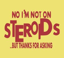 Steroids II Kids Clothes