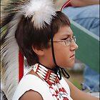 Powwow Dancer, August 2011 by Raianerastha