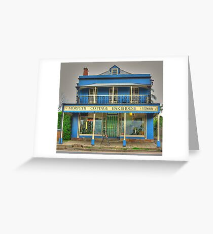 Morpeth Cottage Bakehouse Greeting Card
