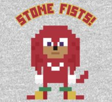 8Bit Knuckles One Piece - Long Sleeve