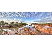 Ashburton river, Pilbara region , Western Australia Photographic Print