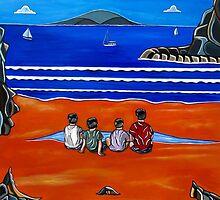 Beach Boys by Sandra Marie Adams