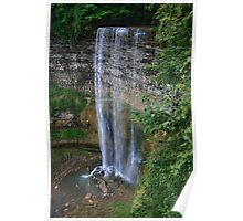 Tew's Falls at Spencer Gorge Poster
