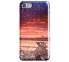 Clamshell sunset, Quobba, Western Australia iPhone Case/Skin
