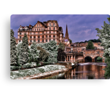 Victoria Art Gallery and Palladian Pulteney Bridge  Canvas Print