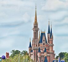 Disney Castle  by RandPx2