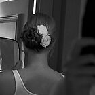 Bride's Hair on her Wedding Day by thebaum