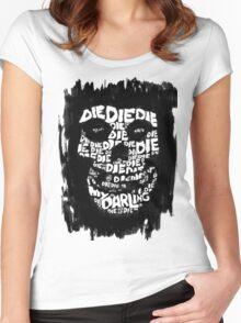 Die, Die Misfits inspired tee #2 Women's Fitted Scoop T-Shirt