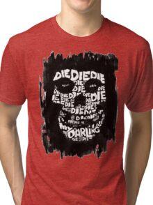 Die, Die Misfits inspired tee #2 Tri-blend T-Shirt