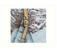 Earth Furnace Art Print