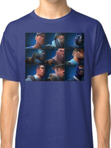 TF2 - Blu/Blue Team Classic T-Shirt