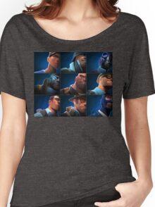 TF2 - Blu/Blue Team Women's Relaxed Fit T-Shirt
