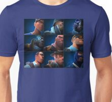 TF2 - Blu/Blue Team Unisex T-Shirt