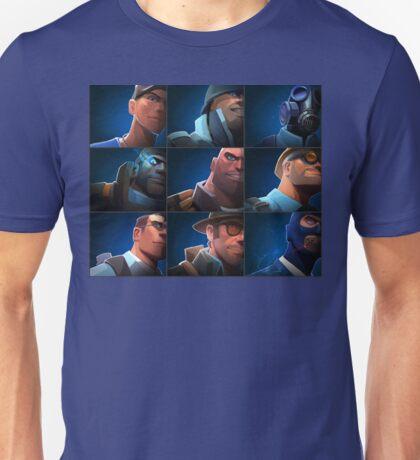 TF2 - Blu/Blue Team Unisex T-Shirt