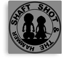 Shaft Shot and The Hammer Emblem Canvas Print