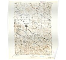 USGS Topo Map Oregon Baker 283138 1901 125000 Poster