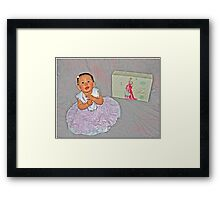A Girl Can Dream Framed Print