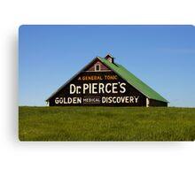 Dr. Pierce's Barn Canvas Print