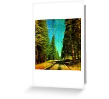 Lonesome Journey, Unknown Destination Greeting Card