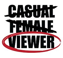 """Casual Female Viewer""  by ADarkly"
