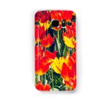 Fire Tulips Samsung Galaxy Case/Skin
