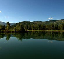 Cataldo Mission Lake by mpalcic