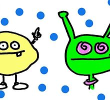 Lemon vs martian by Ollie Brock