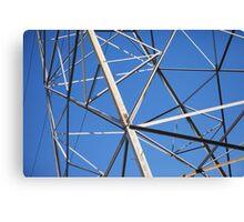 Towering Steel Canvas Print
