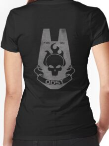 We Are ODST - Back Women's Fitted V-Neck T-Shirt