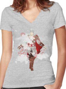 Assassins Creed: Ezio Auditore da Firenze Giclee Art Print Women's Fitted V-Neck T-Shirt