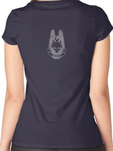 We Are ODST - Small on Back Women's Fitted Scoop T-Shirt