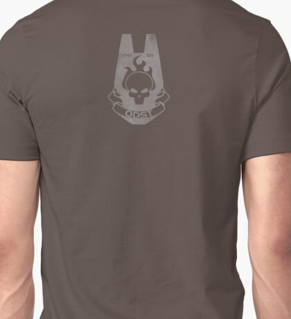 We Are ODST - Small on Back Unisex T-Shirt