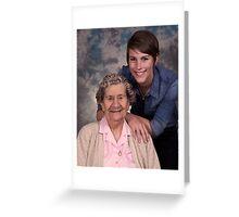 Me & my Grandma! Greeting Card