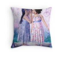Magical Secrets Throw Pillow