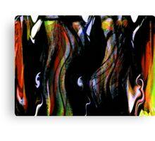 """""""kage"""" geisha.... a dancing screen Canvas Print"""