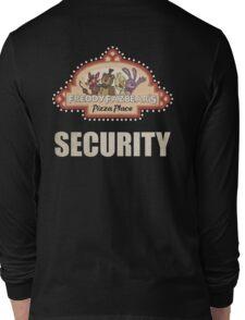 Five Nights at Freddy's - FNAF - Freddy Fazbear's Security Logo Long Sleeve T-Shirt