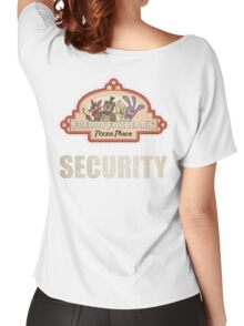 Five Nights at Freddy's - FNAF - Freddy Fazbear's Security Logo Women's Relaxed Fit T-Shirt