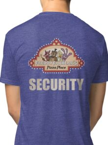 Five Nights at Freddy's - FNAF - Freddy Fazbear's Security Logo Tri-blend T-Shirt