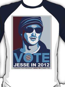 VOTE Jesse in 2012 BrBa shirt T-Shirt