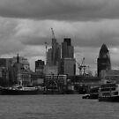 London Skyline by gm8ty
