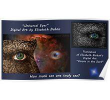 Universal Eyes Card Poster
