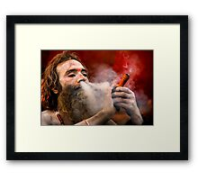 In Search Of Nirvana Framed Print