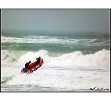 Rescue training Photographic Print
