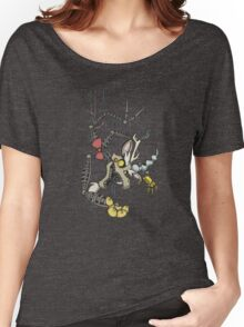 My Little Pony - MLP - FNAF - Discord Animatronic Women's Relaxed Fit T-Shirt