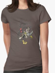 My Little Pony - MLP - FNAF - Discord Animatronic Womens Fitted T-Shirt