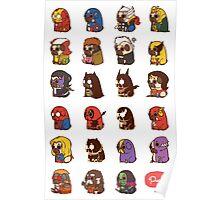 Puglie Heroes & Villains Poster
