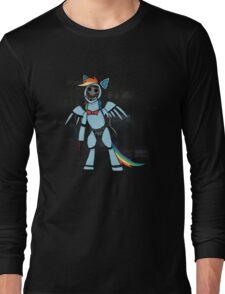 My Little Pony - MLP - FNAF - Rainbow Dash Animatronic Long Sleeve T-Shirt