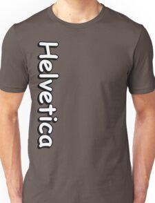 Helvetica hell Unisex T-Shirt